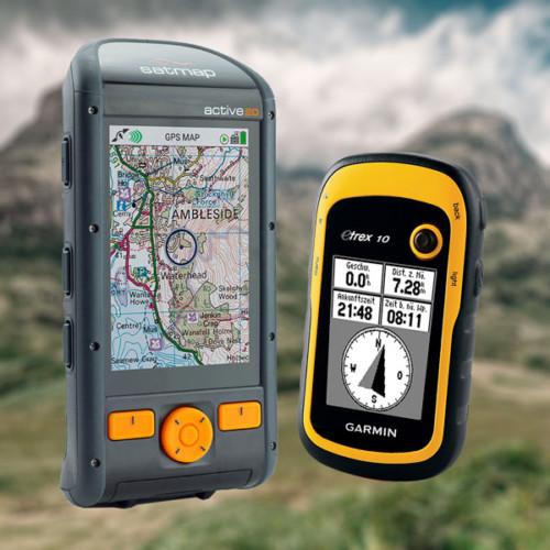 Handheld GPS NavPacks